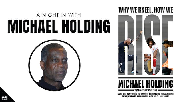 A Night In with Michael Holding: 24 Jun, 20:00 UK