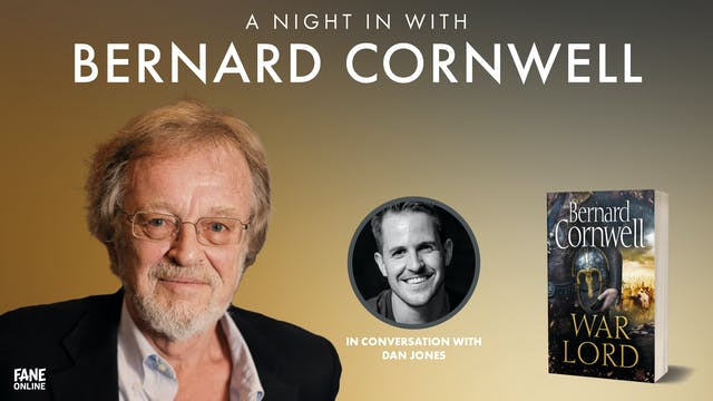 A Night In With Bernard Cornwell: 14 Oct 20:30