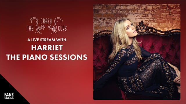 Harriet The Piano Sessions: 25 Sep, 19:00 UK