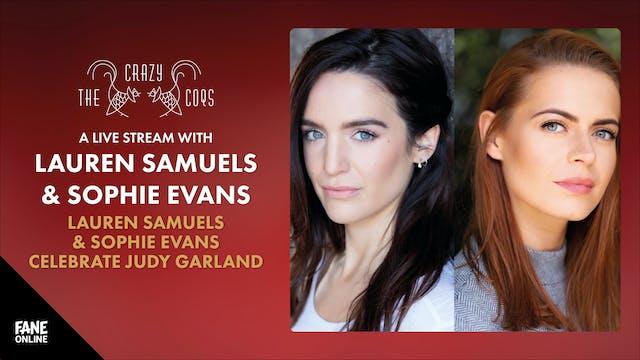 Lauren Samuels & Sophie Evans: 29 Sep 18:00