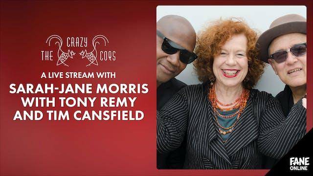 A Live Stream with Sarah-Jane Morris: 18 Nov 18:30