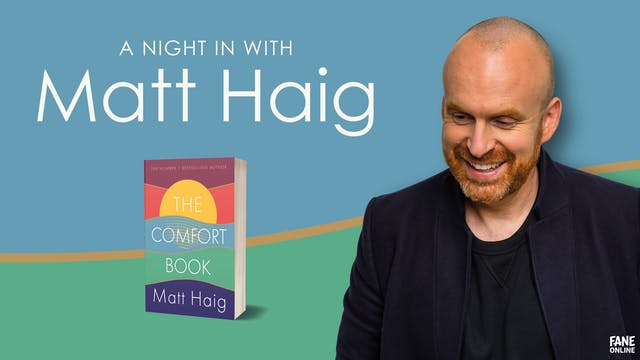 A Night In with Matt Haig: 30 Jun, 18:30 UK