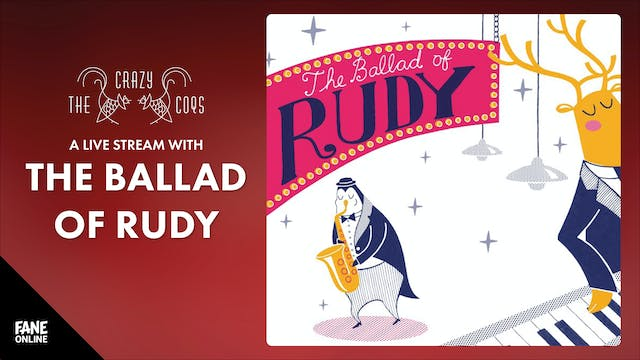 A Live Stream with The Ballad of Rudy: 27 Dec 3PM