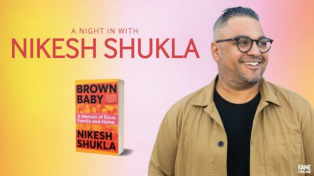 A Night In With Nikesh Shukla: 18:30 - 3 Feb 2021