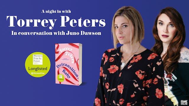 Torrey Peters and Juno Dawson: 27 May 18:30 UK