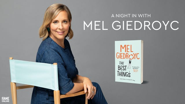 A Night In With Mel Giedroyc: 30th March 18:30 UK