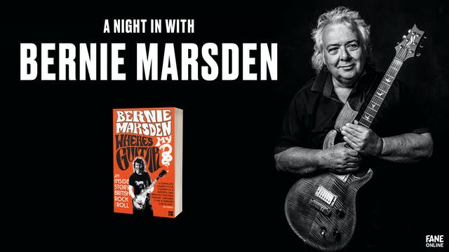 A Night in with Bernie Marsden: May 16, 20:00 UK