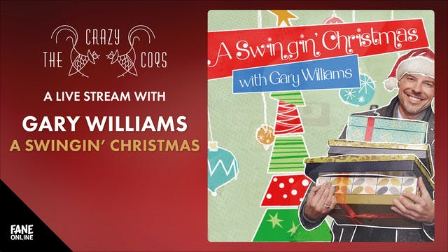 A Live Stream with Gary Williams: 20 Dec 18:30
