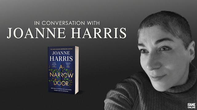 A Night In with Joanne Harris: 6 Sep, 18:30 UK
