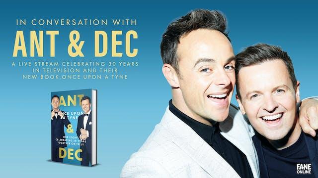 A Live Stream with Ant & Dec: 11 Sep 18:30