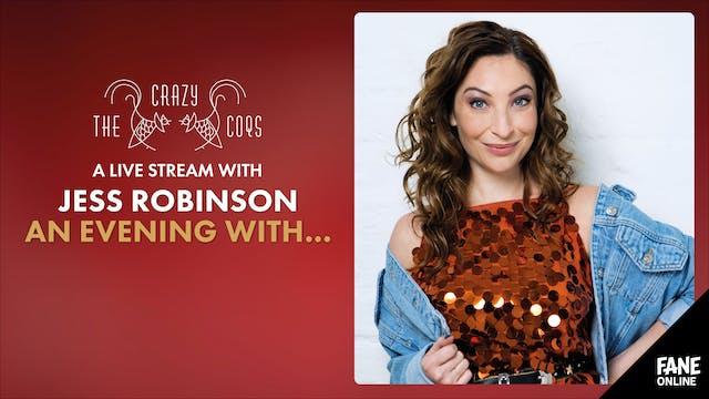 A Live Stream with Jess Robinson: 11 Nov 20:30