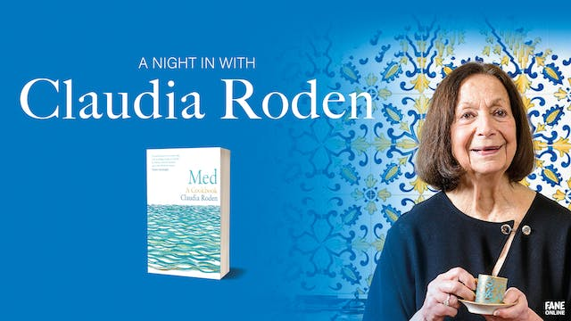 A Night In with Claudia Roden: 2 Sep, 20:00 UK