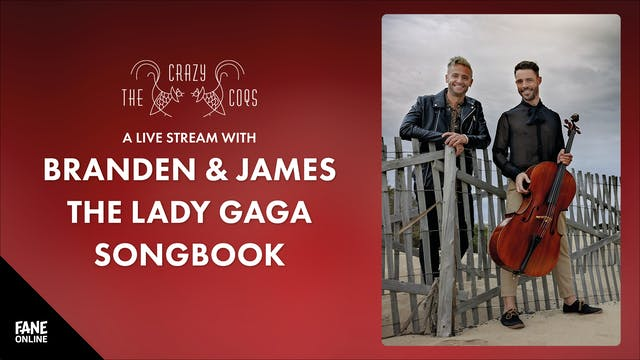 Crazy Coqs - Branden & James: 21 Jul, 21:00 UK