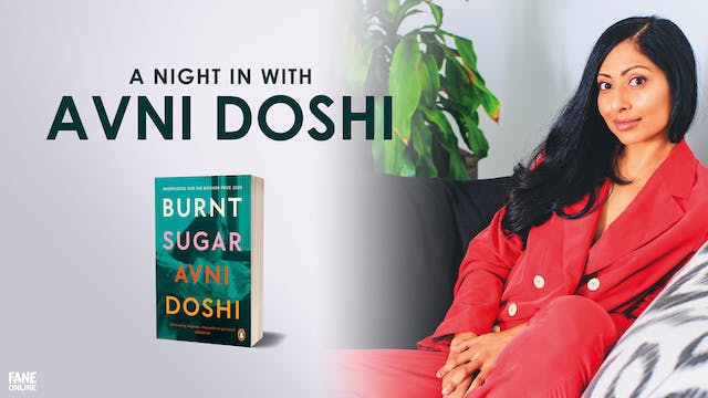 A Night In with Avni Doshi: 3 Jun, 18:00 UK