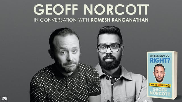 A Night In With Geoff Norcott: 11 May - 18:30 UK