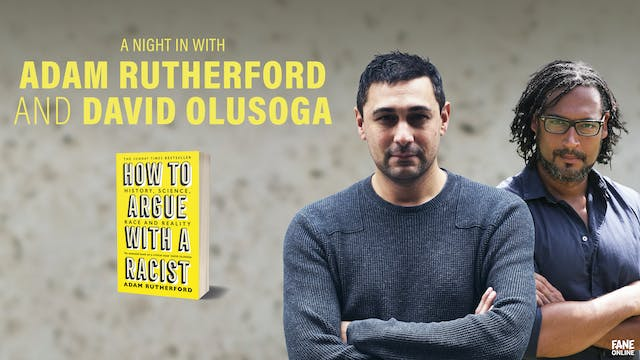 A Night in with Adam Rutherford & David Olusoga