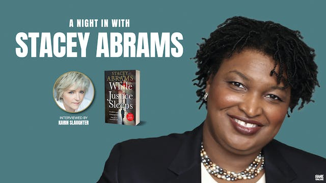 Stacey Abrams In Conversation with Karin Slaughter