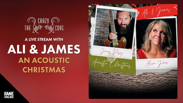 A Live Stream With Ali & James: 22 Dec 18:30