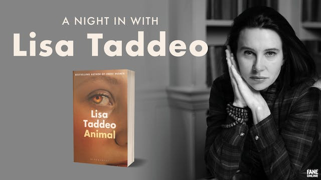 A Night In with Lisa Taddeo: 26 Jun, 18:30 UK