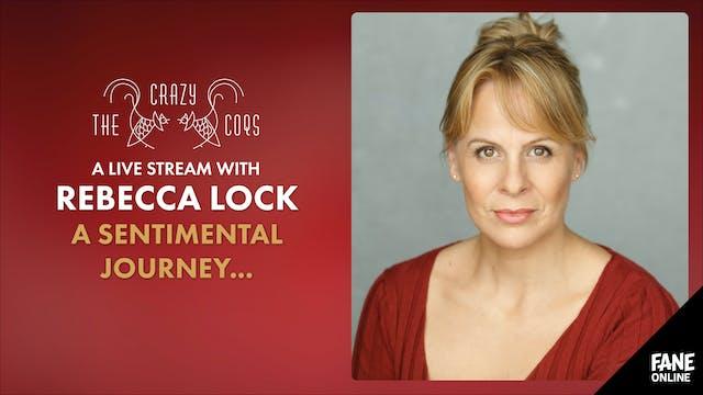A Live Stream with Rebecca Lock: 28 Nov 18:30