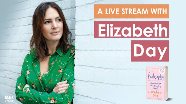 A Live Stream with Elizabeth Day: 2 Oct 18:30