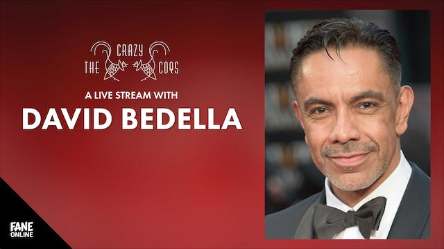 A Live Stream with David Bedella: ON DEMAND