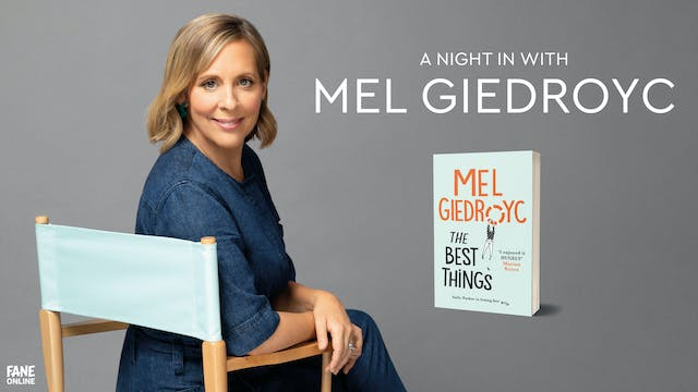 A Night In With Mel Giedroyc: 31st March 18:30 UK