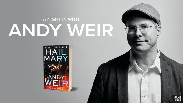 A Night In with Andy Weir - ON DEMAND