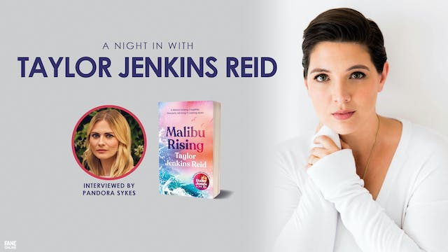 A Night In with Taylor Jenkins Reid 26 May 18:30UK