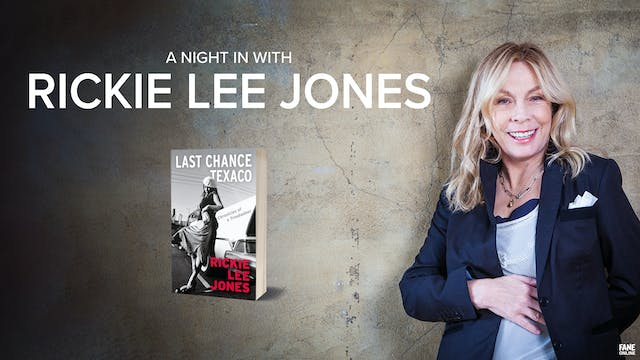 A Night In With Rickie Lee Jones: 19 May 18:30 UK