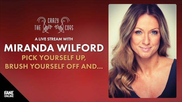 A Live Stream with Miranda Wilford: 19 Sep 19:00