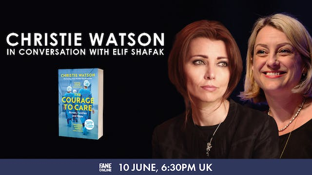A Night In with Christie Watson: 10 Jun, 18:30 UK
