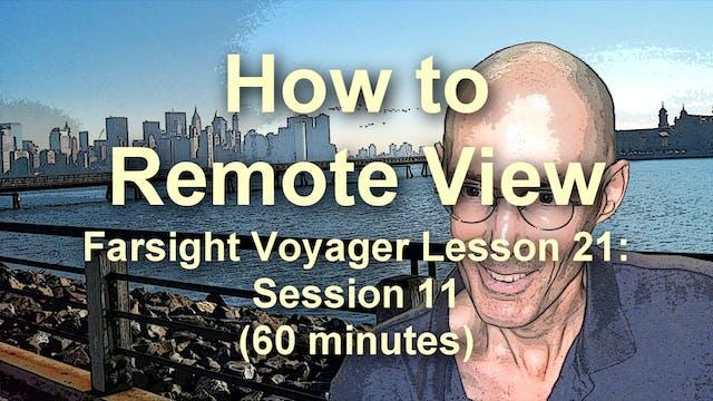 Farsight Voyager Basic SRV Lesson 21:...