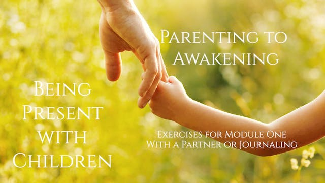 Parenting and the Inner Critic, Part One, Exercise