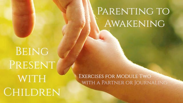 Parenting and the inner Critic, Part Two, Exercise