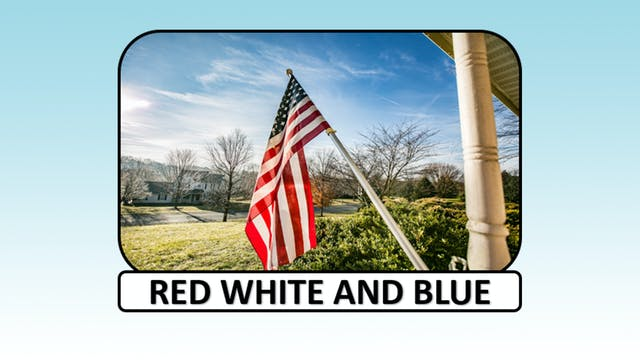 Red, White and Blue (USA)