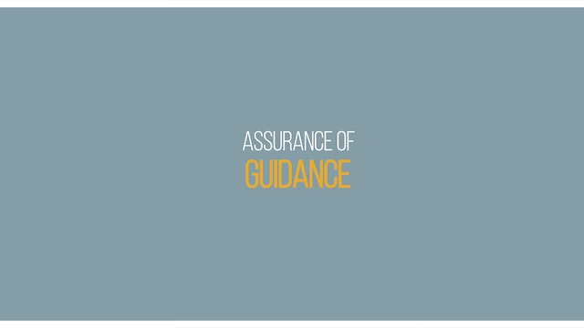 Ep 6 - Assurance on Guidance - Lessons on Assurance