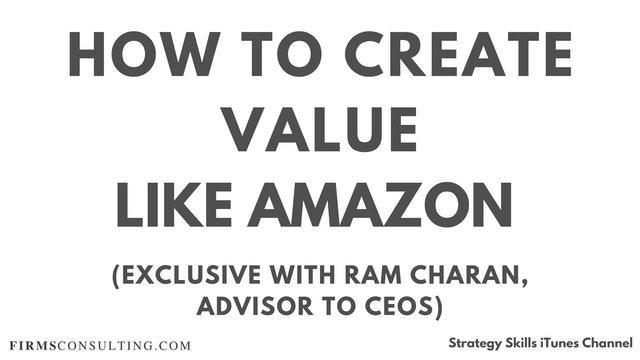 93 FSS Ram Charan How to manage like Amazon