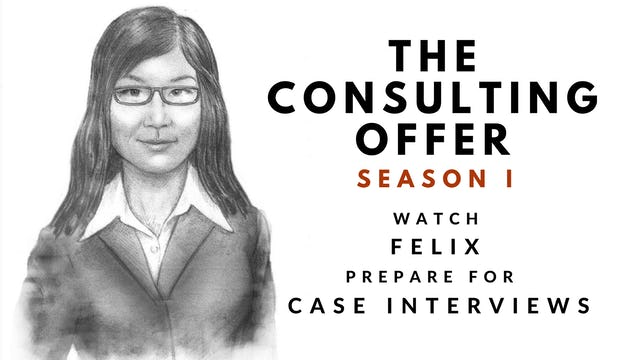 6 The Consulting Offer, Season I, Felix's Session 6 Video Diary