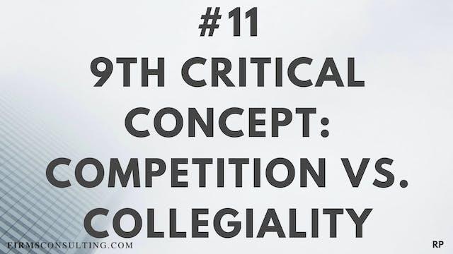 11 RP 9th critical concept. Competiti...