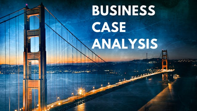 8 A&P: May I see a typical study from a business case angle?
