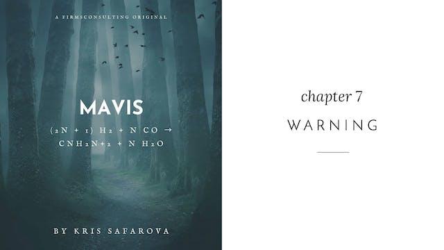 010 Mavis Chapter 7 Warning