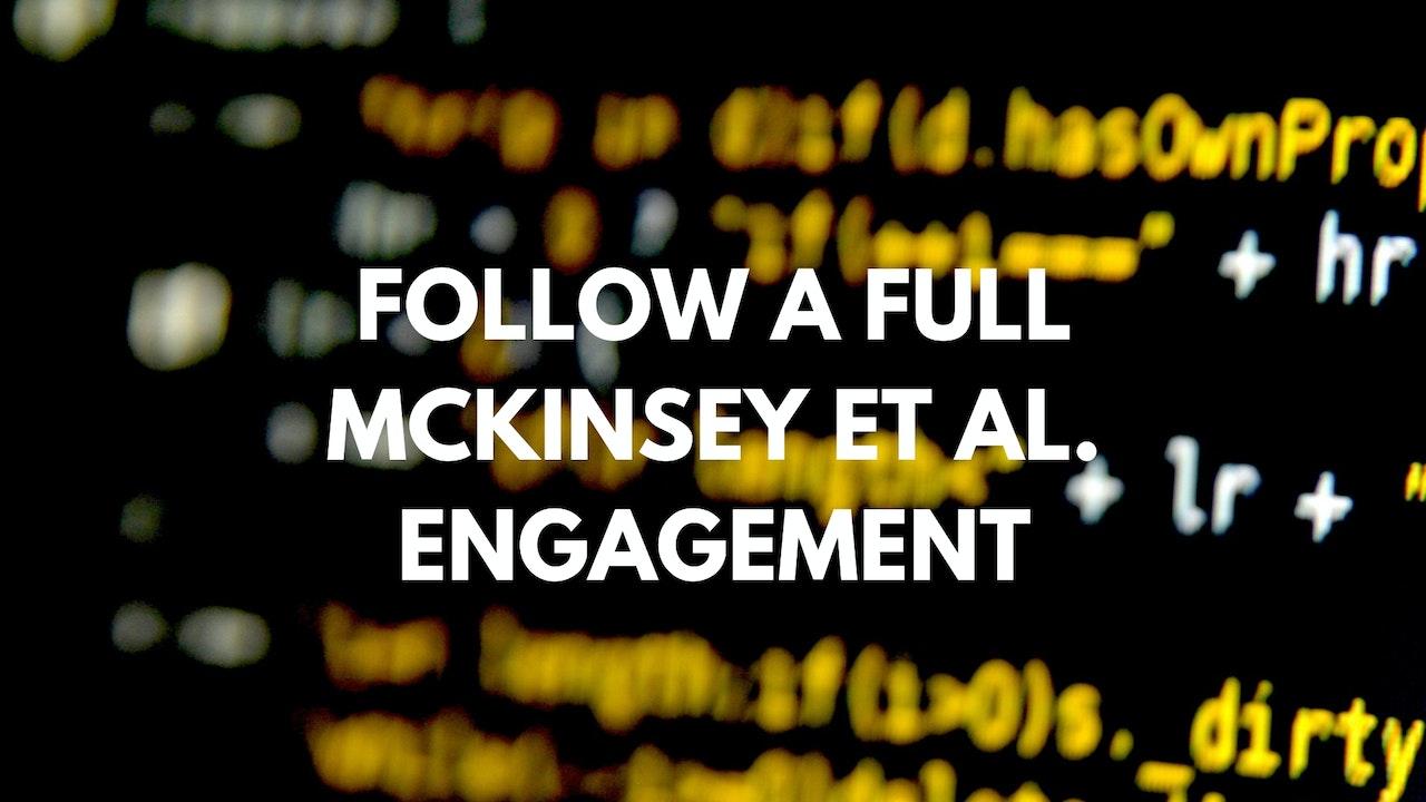 McK, BCG et al Study P8 Ready for the 1st major client executive update?