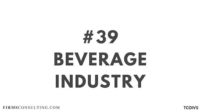 39 TCOIV Sizan. Session 20. Beverage ...