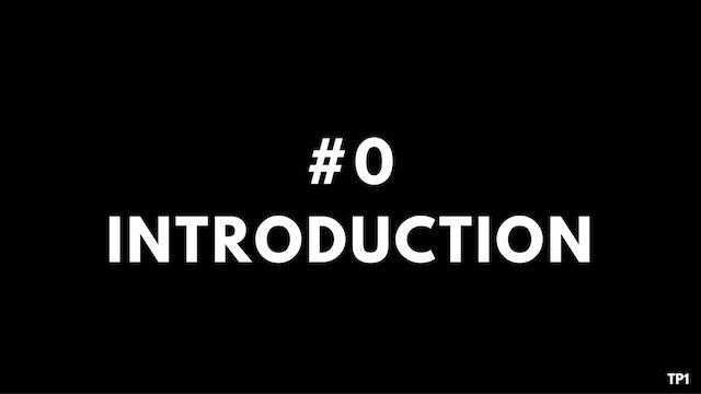0 TP1 Introduction