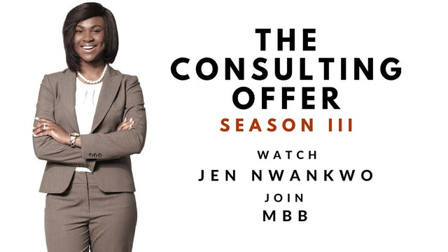 6. JEN SESSION #6: NETWORKING WITH CONSULTING PARTNERS