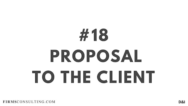 18 D&IT Proposal to the client