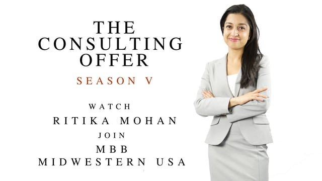 TCO V Ritika Mohan, Ph.D, joins MBB Midwest USA