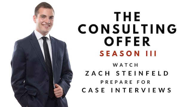 The Consulting Offer III, Zach Steinfeld