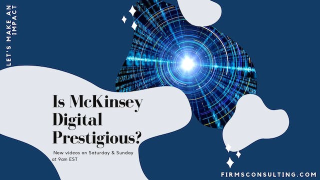 356 FCI Is McKinsey Digital prestigious
